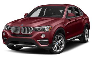 2018 BMW X4 - Melbourne Red Metallic