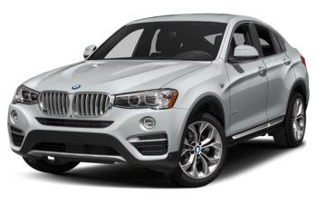 2018 BMW X4 - Glacier Silver Metallic