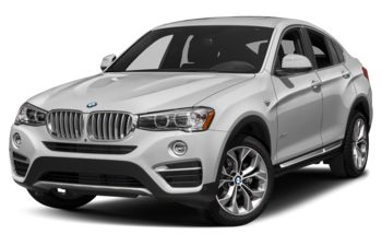 2018 BMW X4 - Mineral White Metallic