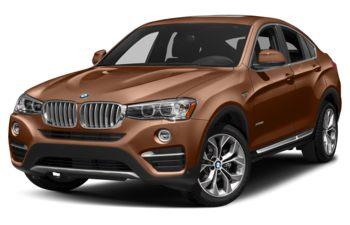 2018 BMW X4 - Chestnut Bronze Metallic