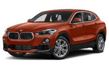 2021 BMW X2 - Sunset Orange Metallic