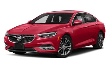 2018 Buick Regal Sportback - Sport Red