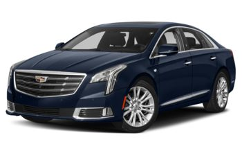 2018 Cadillac XTS - Dark Adriatic Blue Metallic