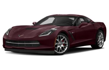 2018 Chevrolet Corvette - Black Rose Metallic