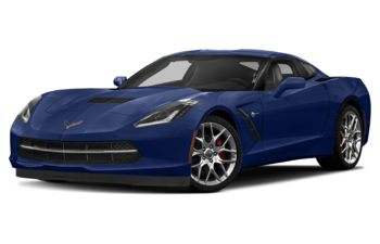 2018 Chevrolet Corvette - Admiral Blue Metallic