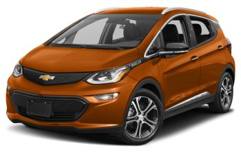2017 Chevrolet Bolt EV - Orange Burst Metallic