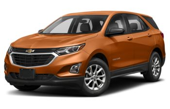 2018 Chevrolet Equinox - Orange Burst Metallic