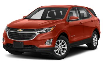 2020 Chevrolet Equinox - Cayenne Orange Metallic