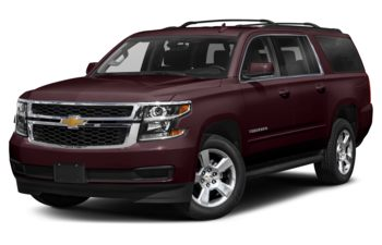 2020 Chevrolet Suburban - Black Cherry Metallic