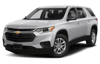 2018 Chevrolet Traverse - Silver Ice Metallic