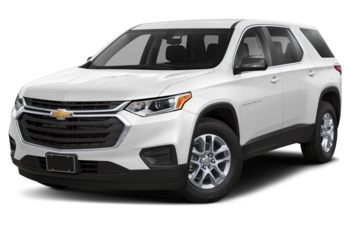 2019 Chevrolet Traverse - Silver Ice Metallic