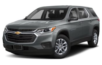 2020 Chevrolet Traverse - Satin Steel Metallic