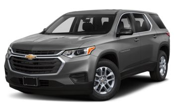 2021 Chevrolet Traverse - Satin Steel Metallic