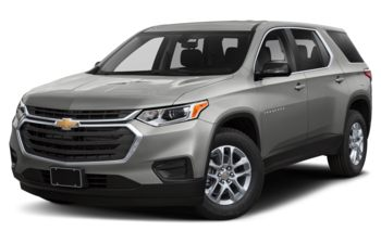 2020 Chevrolet Traverse - Silver Ice Metallic