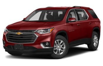 2020 Chevrolet Traverse - Cajun Red Tintcoat