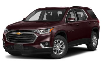 2020 Chevrolet Traverse - Black Cherry Metallic