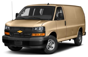 2019 Chevrolet Express 3500 - Doeskin Tan