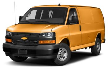 2020 Chevrolet Express 2500 - Wheatland Yellow