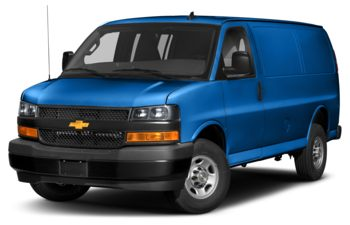2020 Chevrolet Express 3500 - Kinetic Blue Metallic