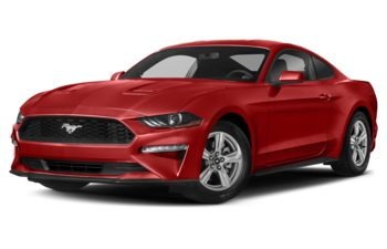 2020 Ford Mustang - Race Red