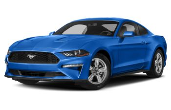 2021 Ford Mustang - Velocity Blue Metallic