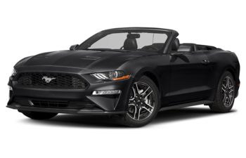 2018 Ford Mustang - Shadow Black
