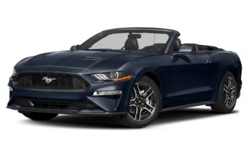 2018 Ford Mustang - Kona Blue