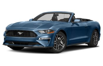 2018 Ford Mustang - Lightning Blue Metallic