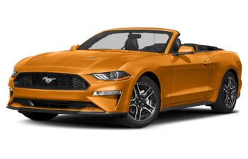 2018 Ford Mustang - Orange Fury Metallic Tri-Coat