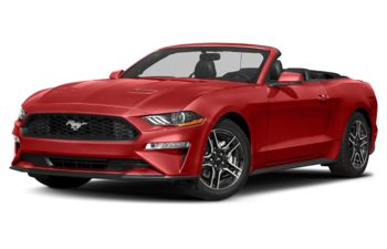 2018 Ford Mustang - Race Red