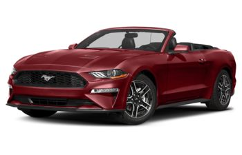 2018 Ford Mustang - Ruby Red Metallic Tinted Clearcoat