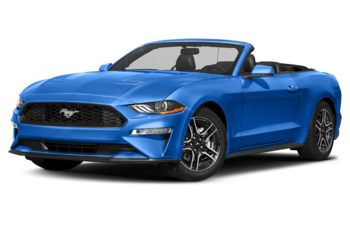 2019 Ford Mustang - Velocity Blue Metallic