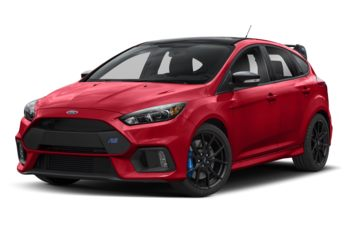 2018 Ford Focus RS - Race Red