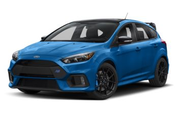 2018 Ford Focus RS - Nitrous Blue Quad-Coat