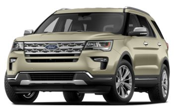2018 Ford Explorer - Platinum Dune Metallic Tri-Coat