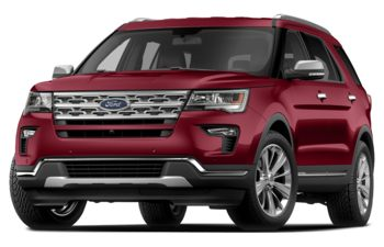 2018 Ford Explorer - Ruby Red Metallic Tinted Clearcoat