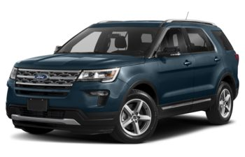 2019 Ford Explorer - Blue Metallic