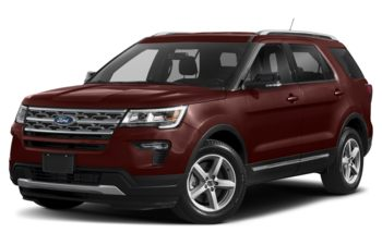 2018 Ford Explorer - Cinnamon Glaze