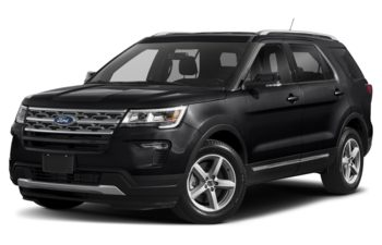 2018 Ford Explorer - Shadow Black