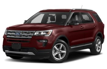2019 Ford Explorer - Burgundy Velvet Metallic Tinted Clearcoat