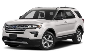 2019 Ford Explorer - White Platinum Metallic Tri-Coat