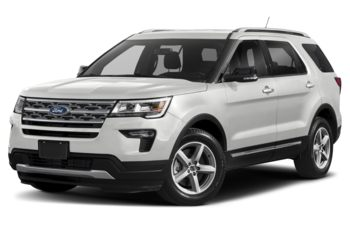2019 Ford Explorer - Oxford White