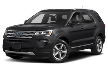 2019 Ford Explorer - Agate Black Metallic