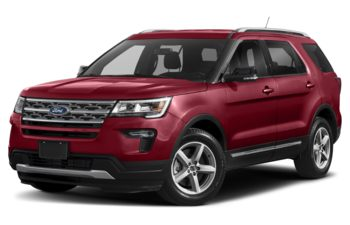 2019 Ford Explorer - Ruby Red Metallic Tinted Clearcoat
