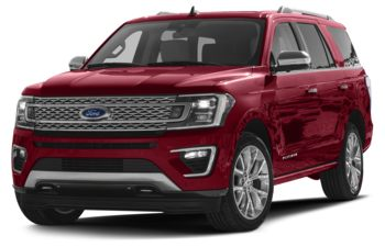 2018 Ford Expedition - Ruby Red Metallic Tinted Clearcoat