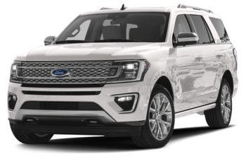 2018 Ford Expedition - White Platinum Metallic Tri-Coat
