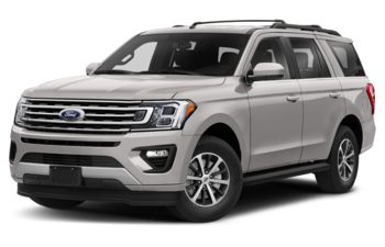 2019 Ford Expedition - White Platinum Metallic Tri-Coat