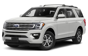 2020 Ford Expedition - Star White Platinum Metallic Tri-Coat