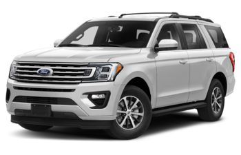2021 Ford Expedition - Star White Platinum Metallic Tri-Coat