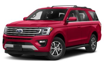 2020 Ford Expedition - Rapid Red Metallic Tinted Clearcoat